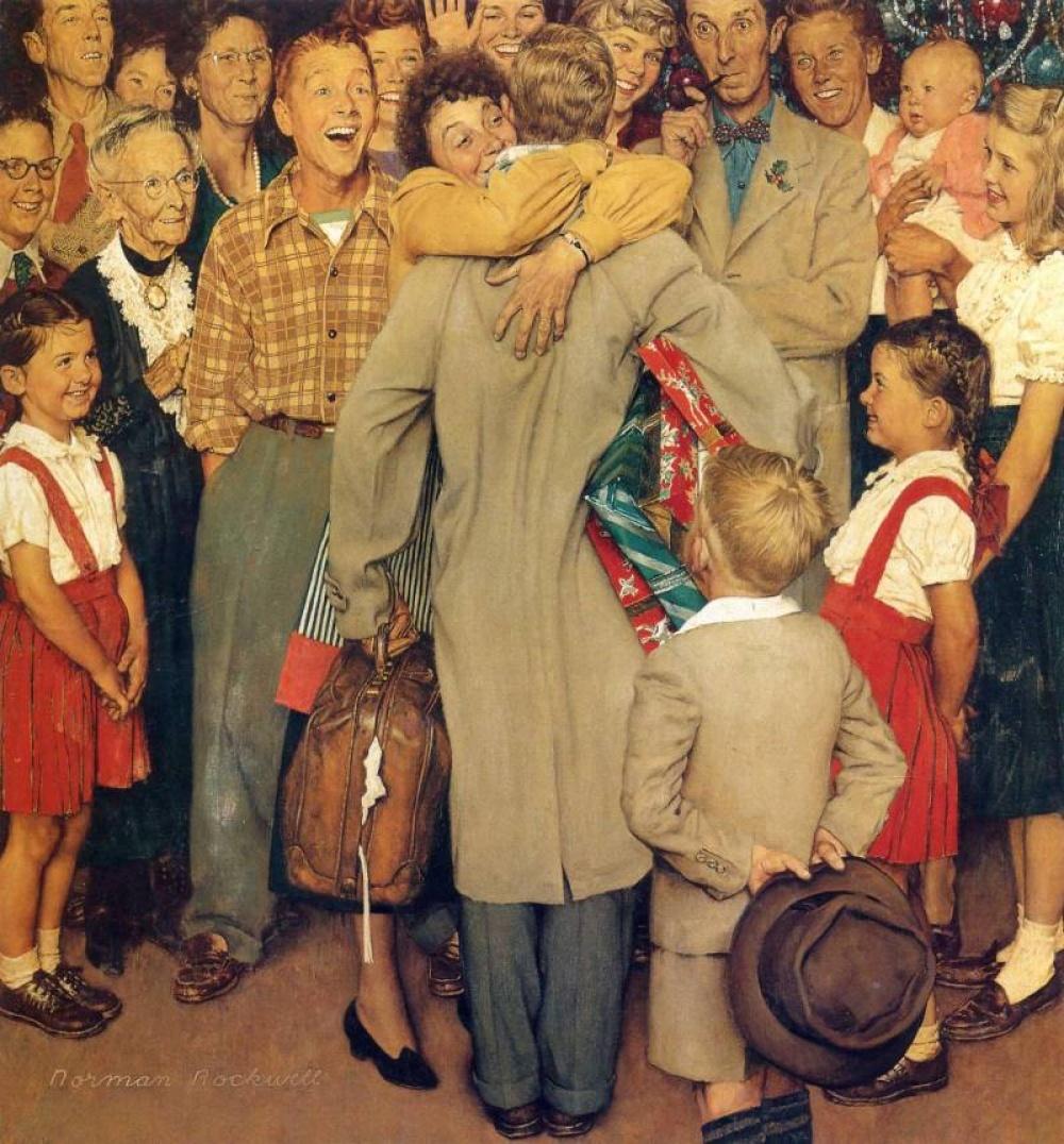 Одна изсамых знаменитых работ художника— оРождестве. Чтобы сделать эту картину по-настоящему живо