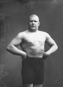 Участник чемпионата А.Аберт (портрет).