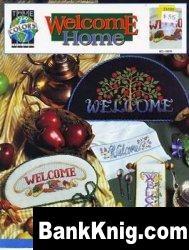 Книга Буклет вышивки крестом «Welcome Home» от True colors jpg 6,01Мб