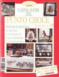 Журнал Susanna. Capolavori del Punto Croce Enciclopedia Anno I - №8