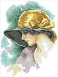 Журнал Буклет вышивки-Женские образы