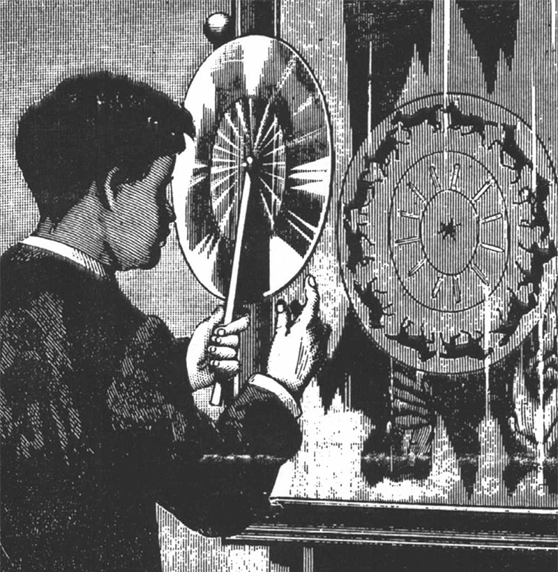 155 Years Before the First Animated Gif, Joseph Plateau Set Images in Motion with the Phenakistoscope