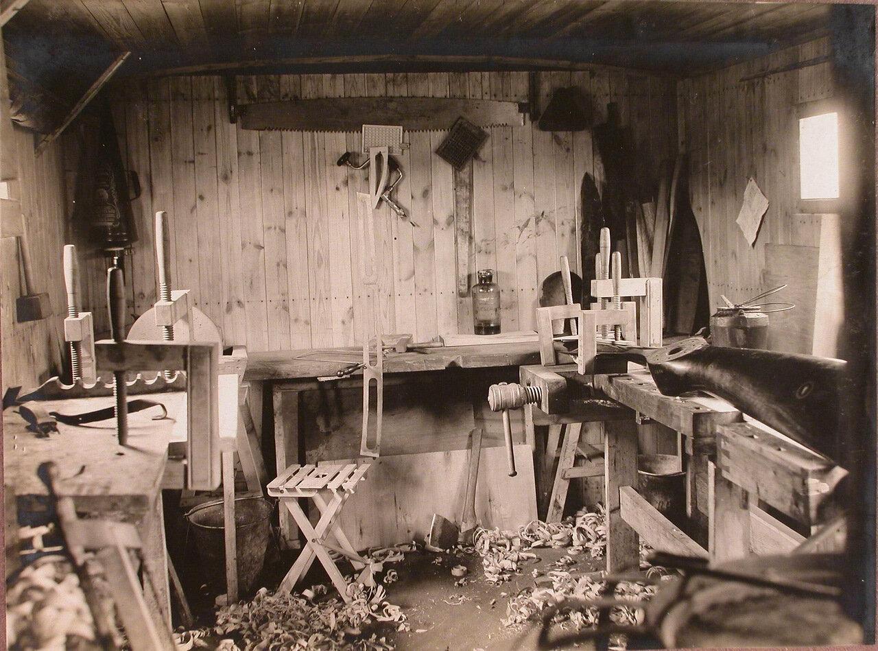 06. Вид помещения столярной мастерской