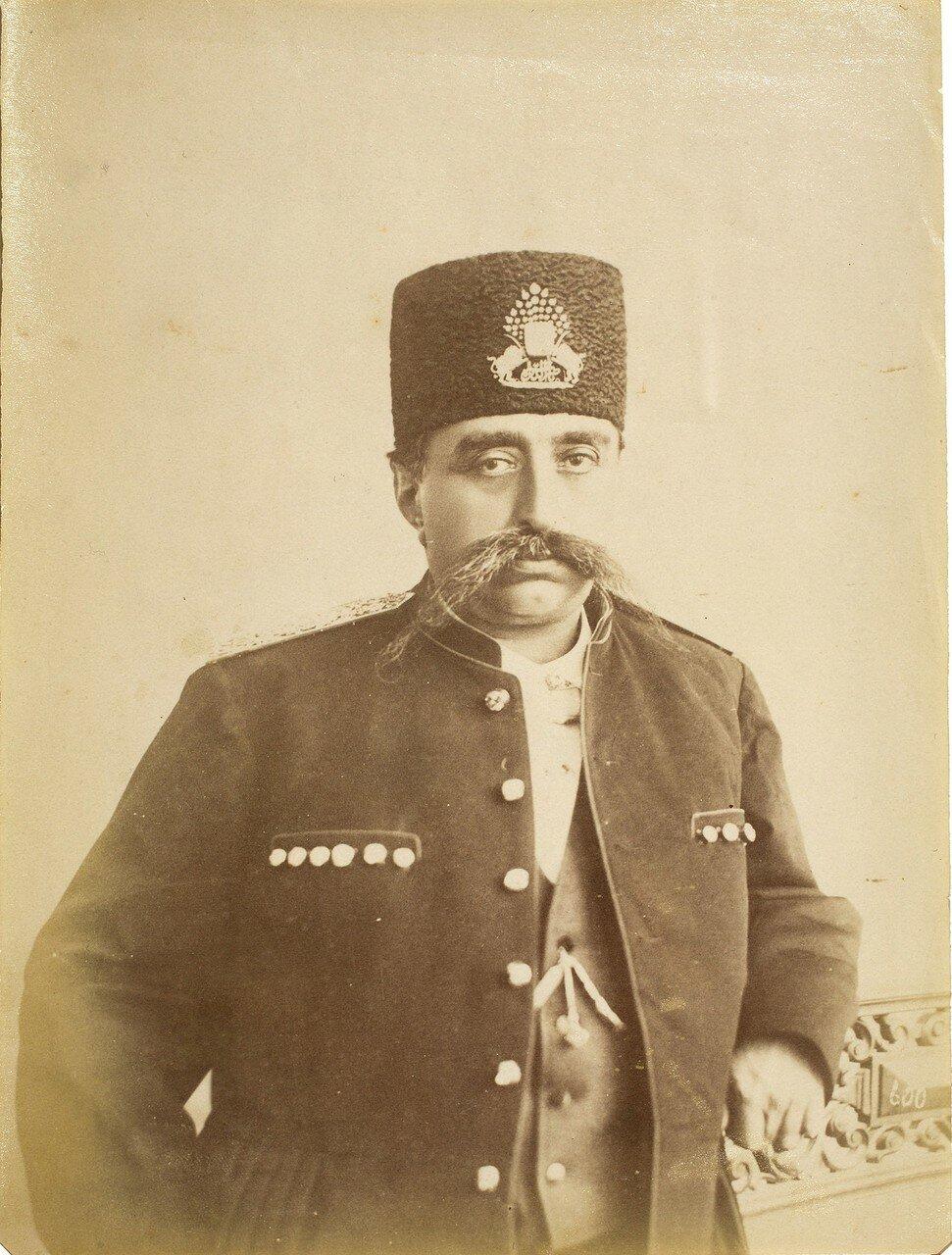 Мозафереддин-шах Каджар , шах Ирана