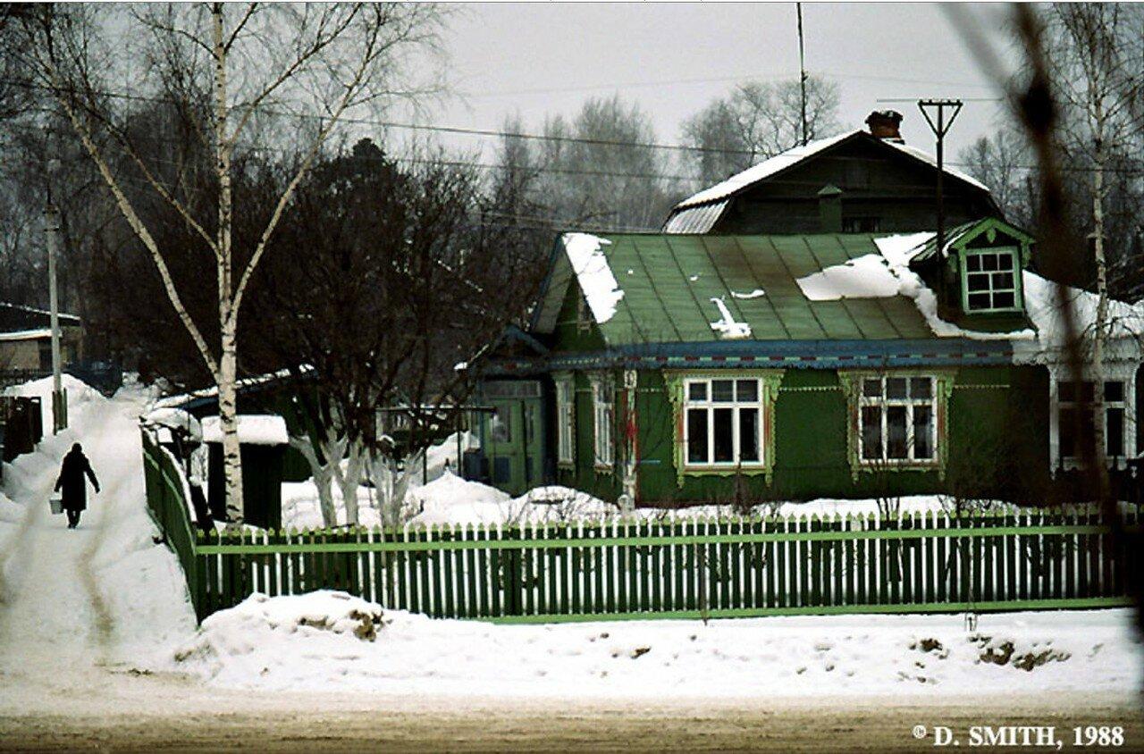 Подмосковье. Зима в деревне Тарасовка