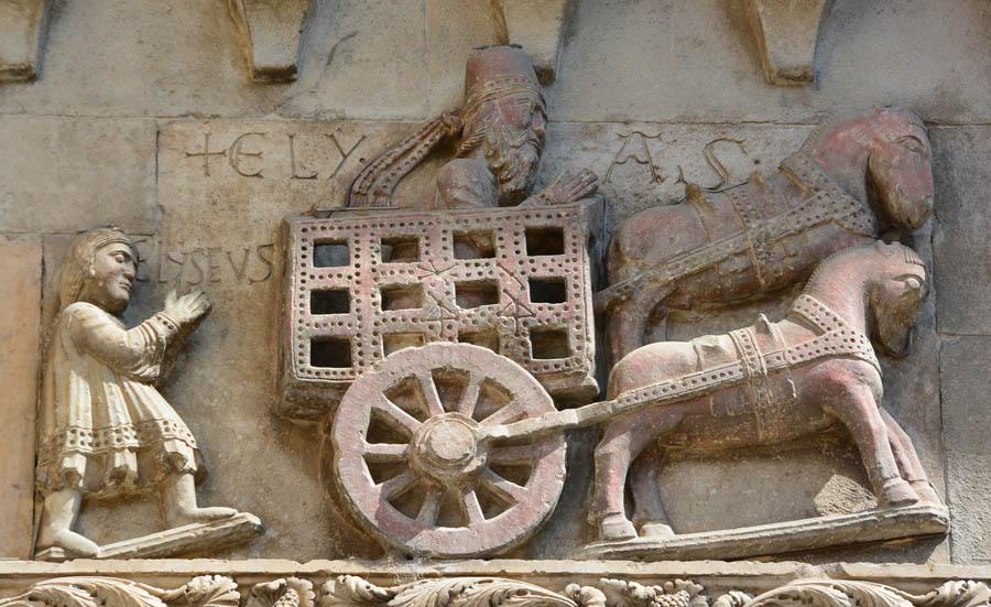 знакомство с рельефом и круглой скульптурой