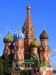 Храм Покрова Божией Матери (собор Василия Блаженного) - главный храм Красной площади и всей Москвы.