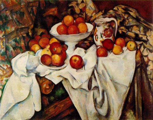 Cezanne - Apples and Oranges