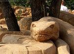 Фестиваль песчаных скульптур. Композиция АНАКОНДА (Егор Устюжанин, Россия)