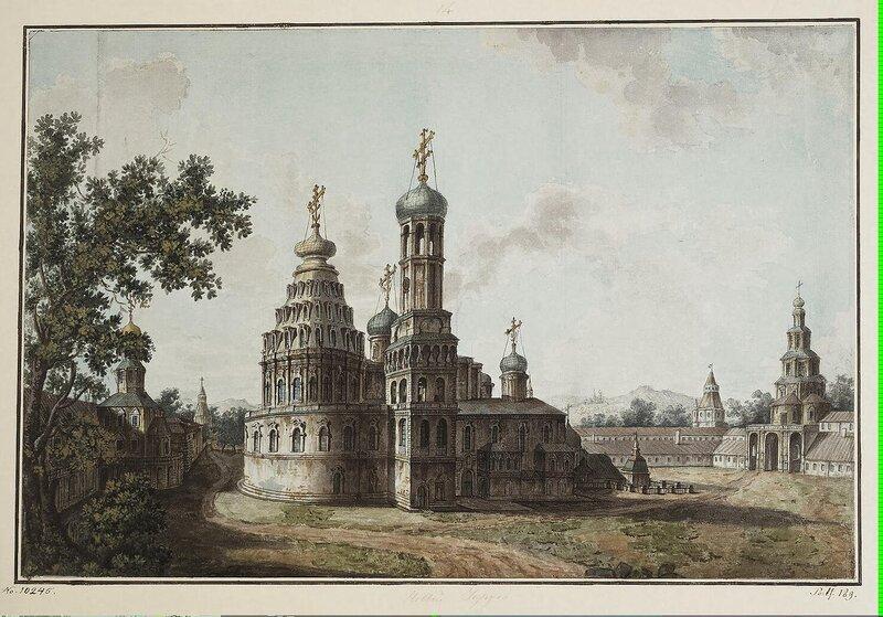 Alexeyev Fiodor - New Jerusalem. Cathedral of the Resurrection of Christ - JRR-6528