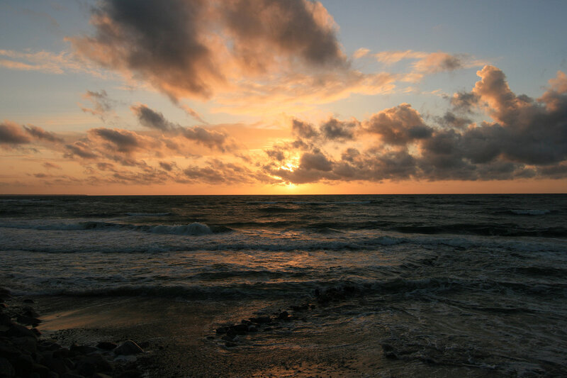 Закат над Балтикой