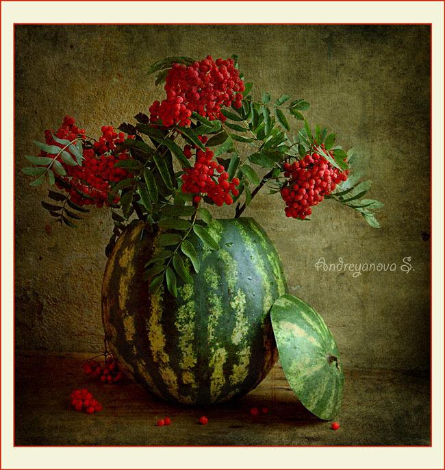 ***ваза с цветами***