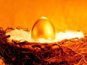Яйцо из золота.