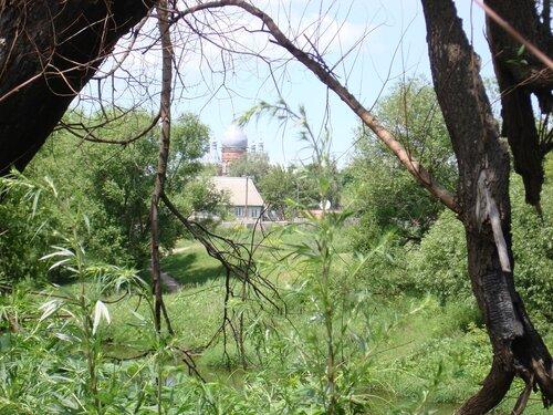 Вид с берега Сердобы