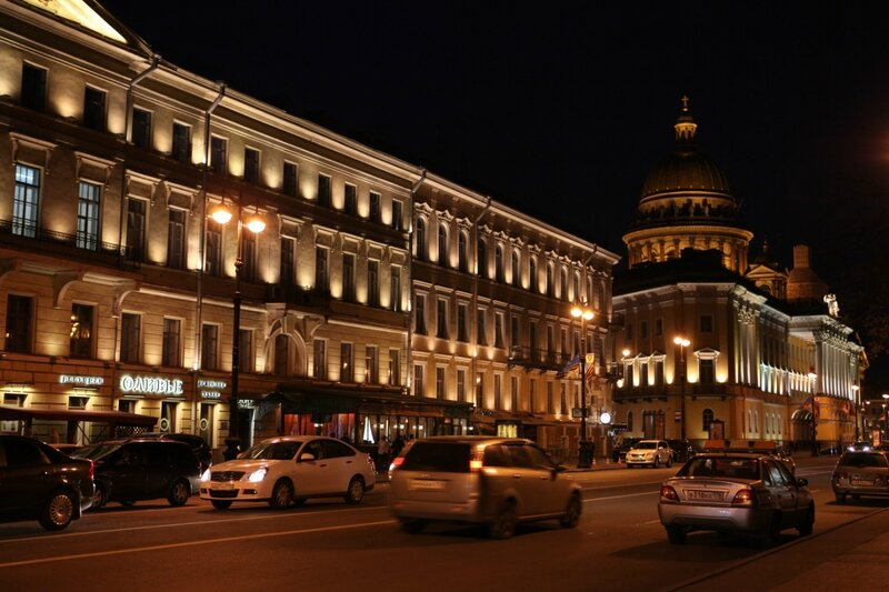 Ночная жизнь Санкт-Петербурга