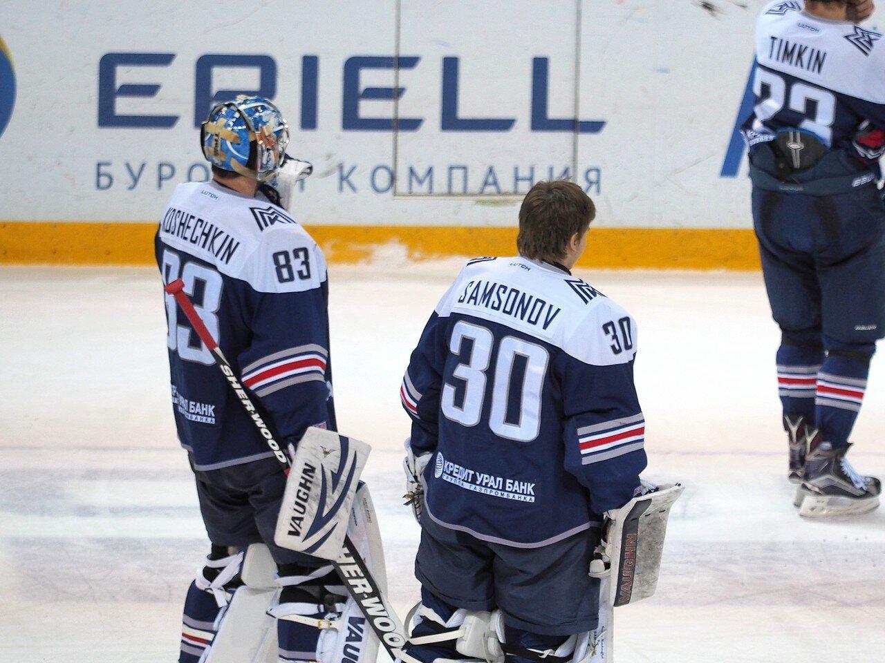 137Восток 1/2 плей-офф Металлург - Сибирь 08.03.2016