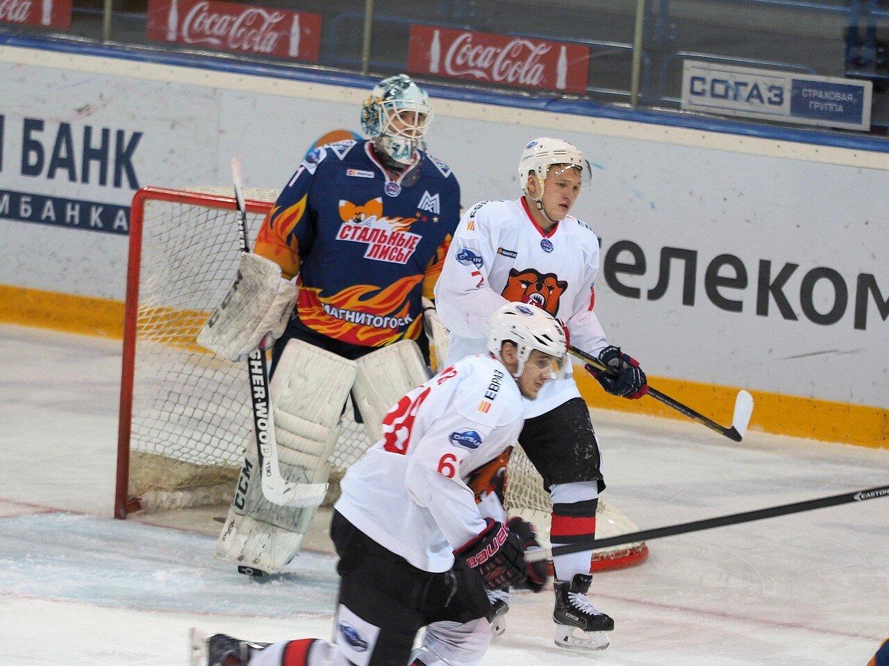 301/8 Плей-офф 2016 МХЛ Стальные Лисы - Кузнецкие Медведи 09.03.2016