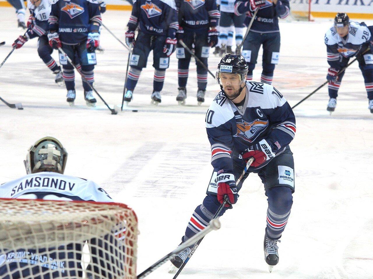 31Плей-офф 2016 Восток 1/2 Металлург - Сибирь 16.03.2016