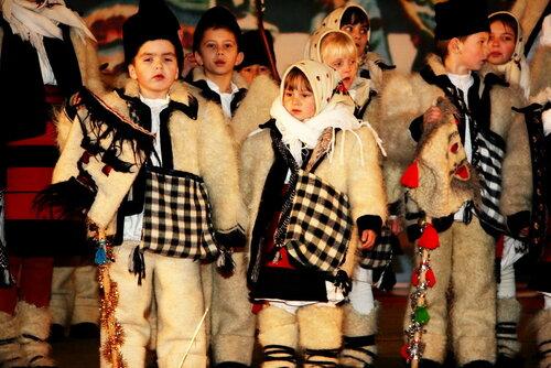 В селе Слобозия колядующие возвестили о Рождестве Христовом