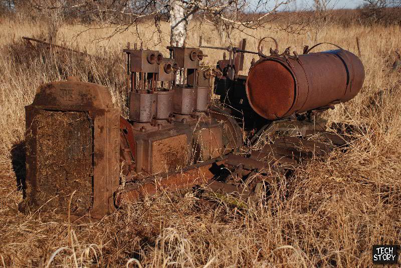 Трактор С-60 на Камчатке. Фотографию сделал Д.Ермолаев.jpg