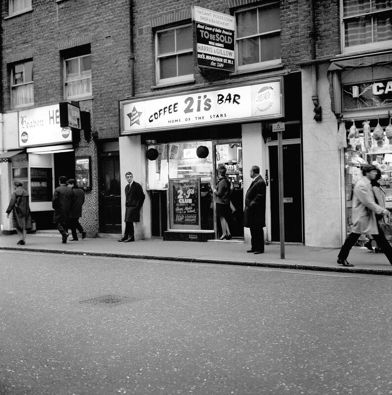 London Scenes - Music - 2i's Coffee Bar - 1966