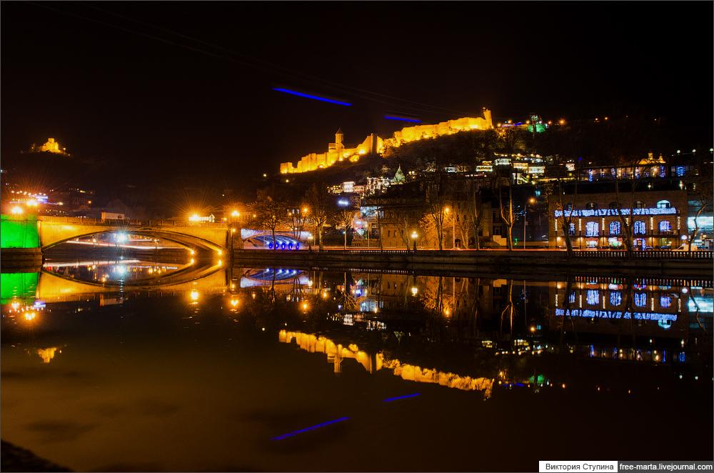Вечерний Тбилиси