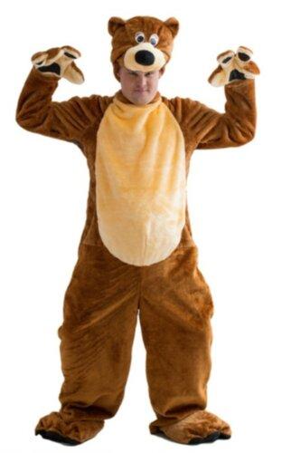 Мужской карнавальный костюм Медведь бурый