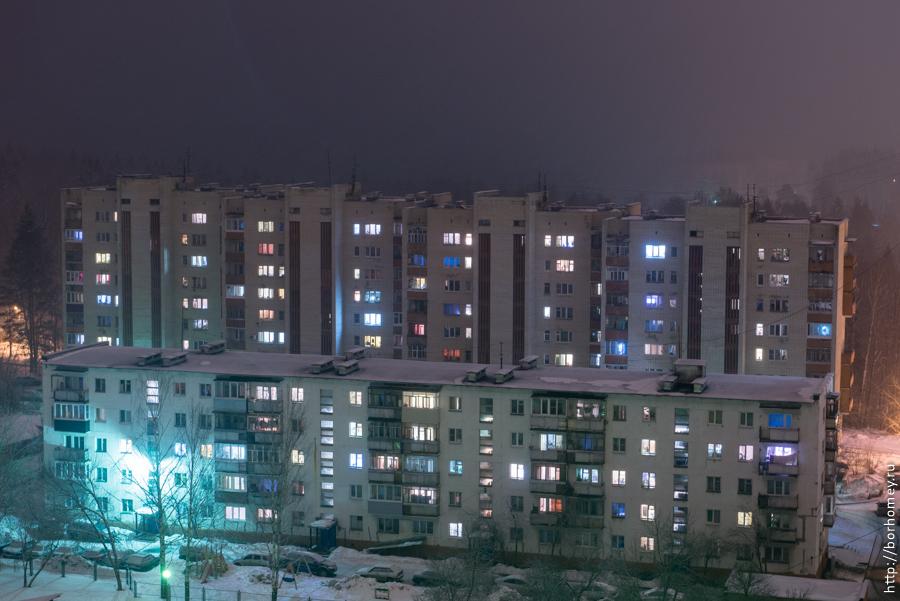 саров с крыши