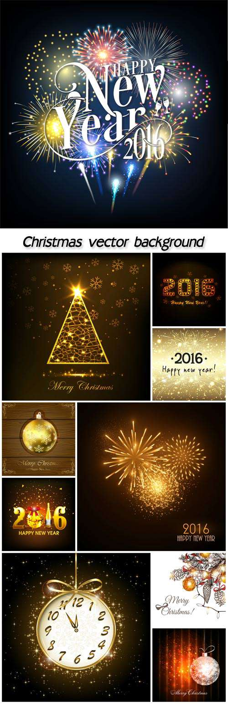 Рождество светящийся фон