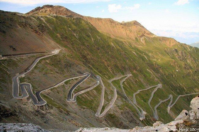 Перевал Стелвио, Итальянские Альпы, Италия