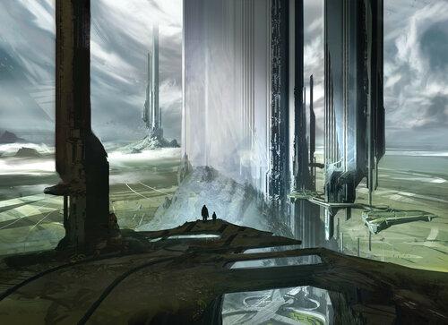 Арт Halo: Криптум [Cryptum]. Автор Sparth