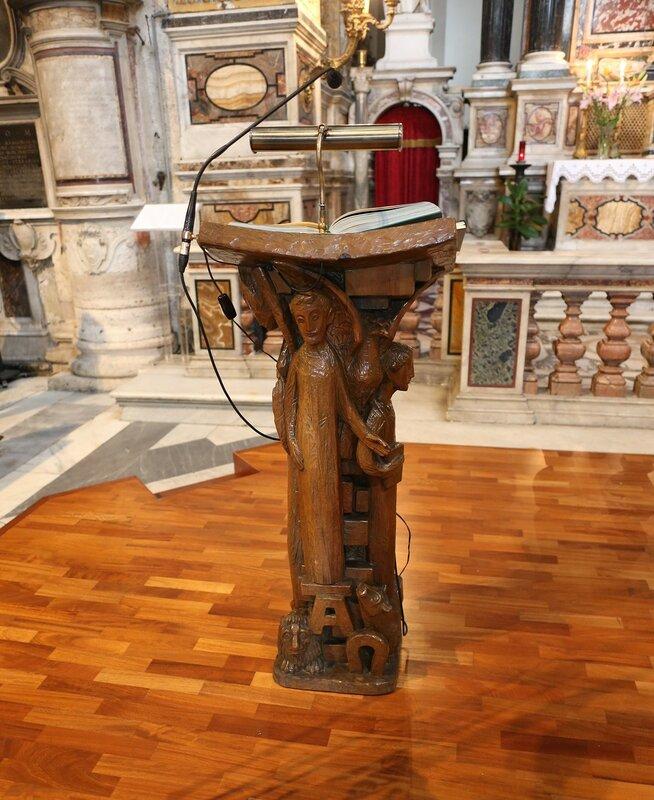 Рим. Базилика Санта-Мария на Пополо. Интерьеры