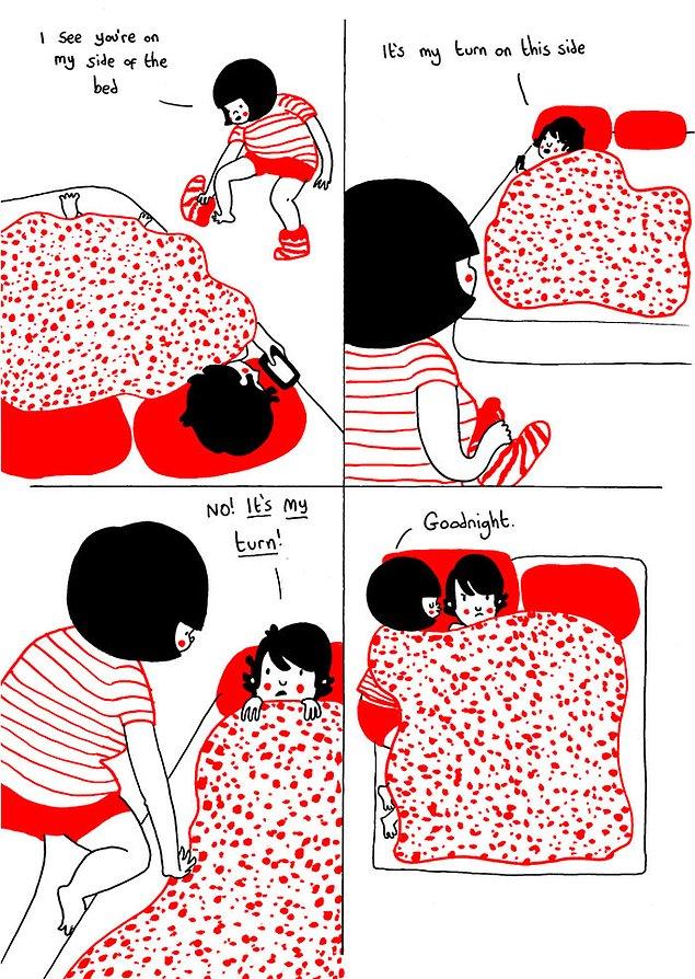Любовь - это небольшие ссоры и недопонимания