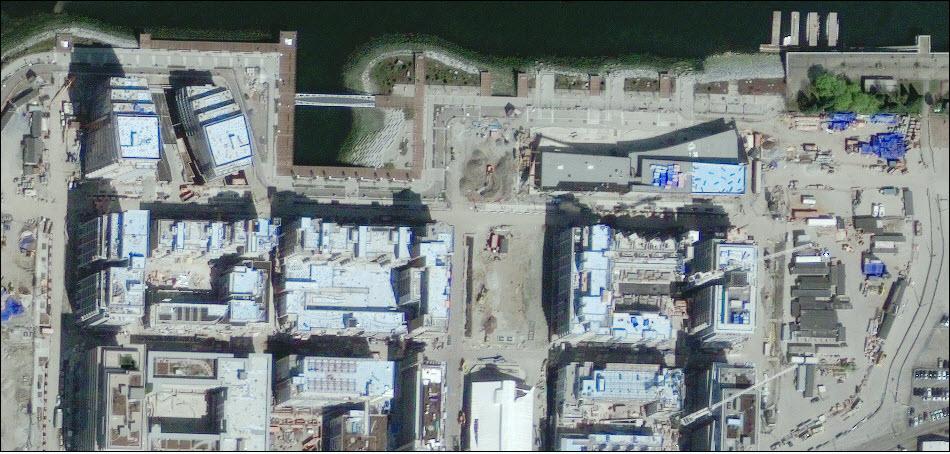 8. Строительство Олимпийской деревни в Ванкувере.