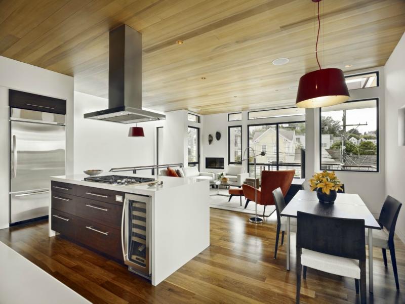 Белый цвет в интерьере кухни, фото 13