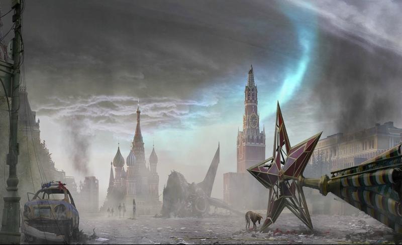 Апокалипсис разрушенная Москва на фото из фильма Фантом