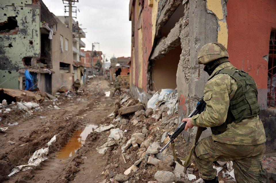 Война в Турции. Диярбекир