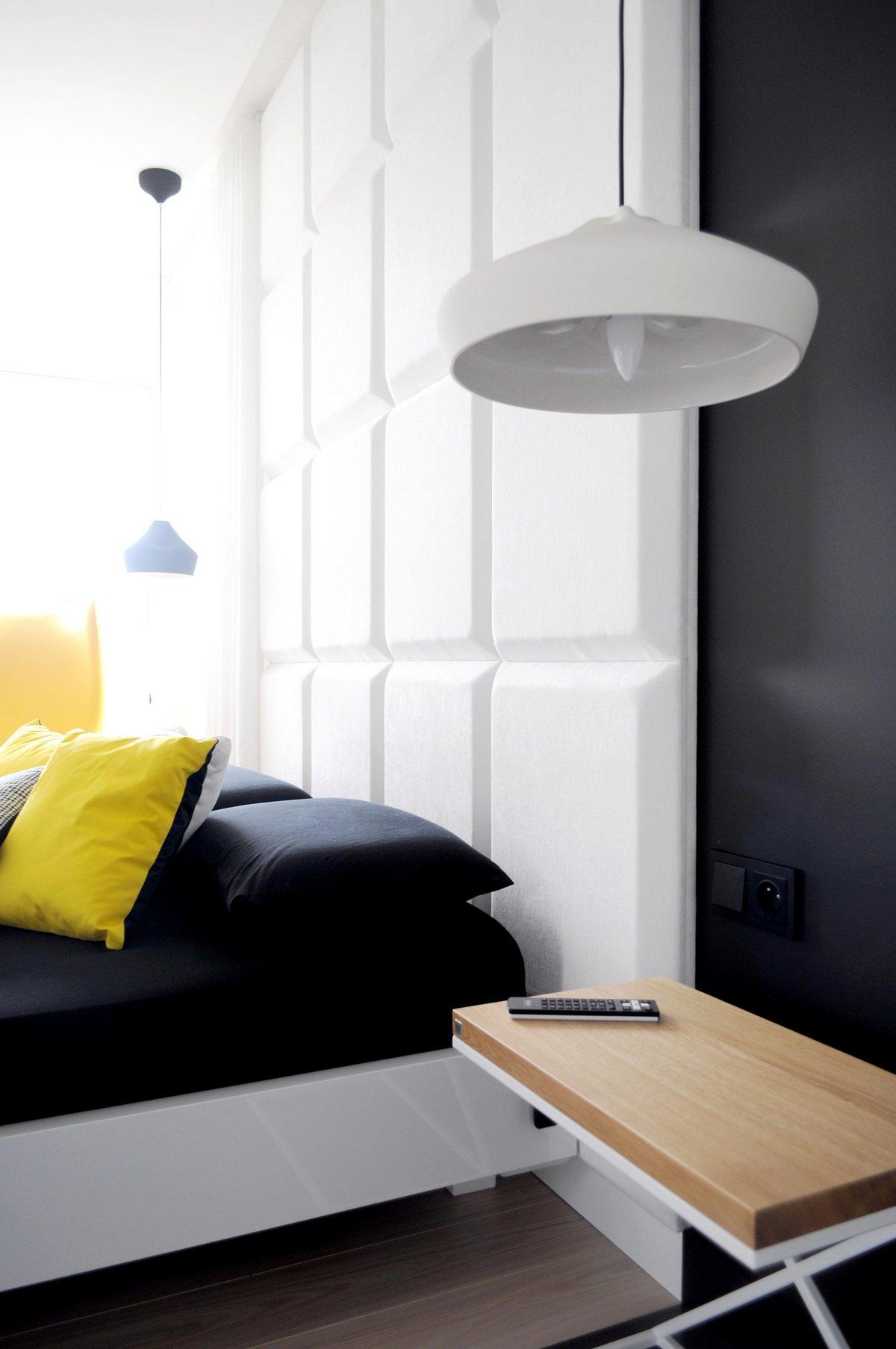WIDAWSCY STUDIO ARCHITEKTURY, черно-белый интерьер фото, белый интерьер квартиры, контрастный интерьер, черно белая квартира фото