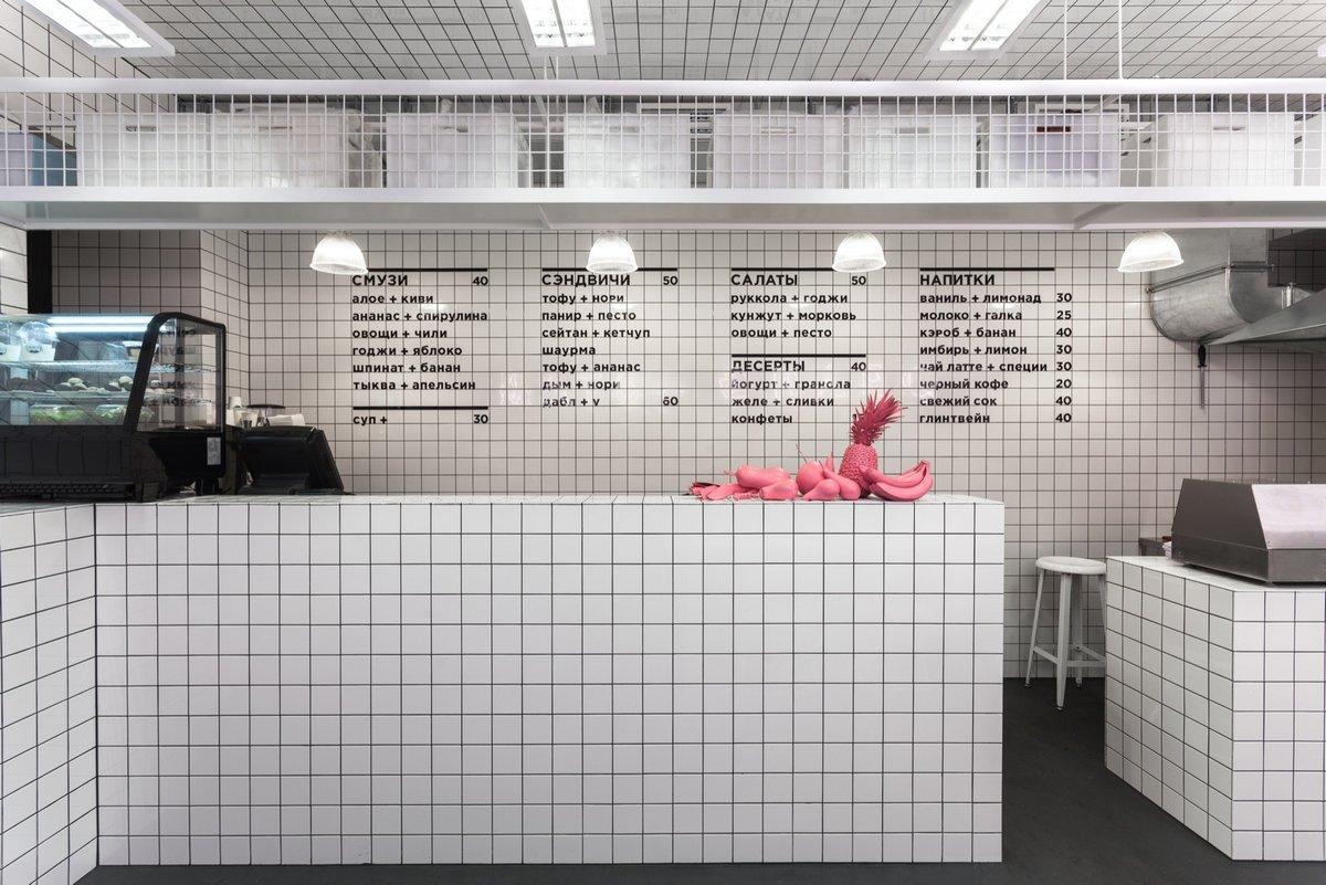 Orang+Utan Vegetarian Bar, AKZ Architectura, Yulia Savlepova, Юлия Савлепова дизайнер, оформление бара, веганский бар Киев, Оформление Orang+Utan