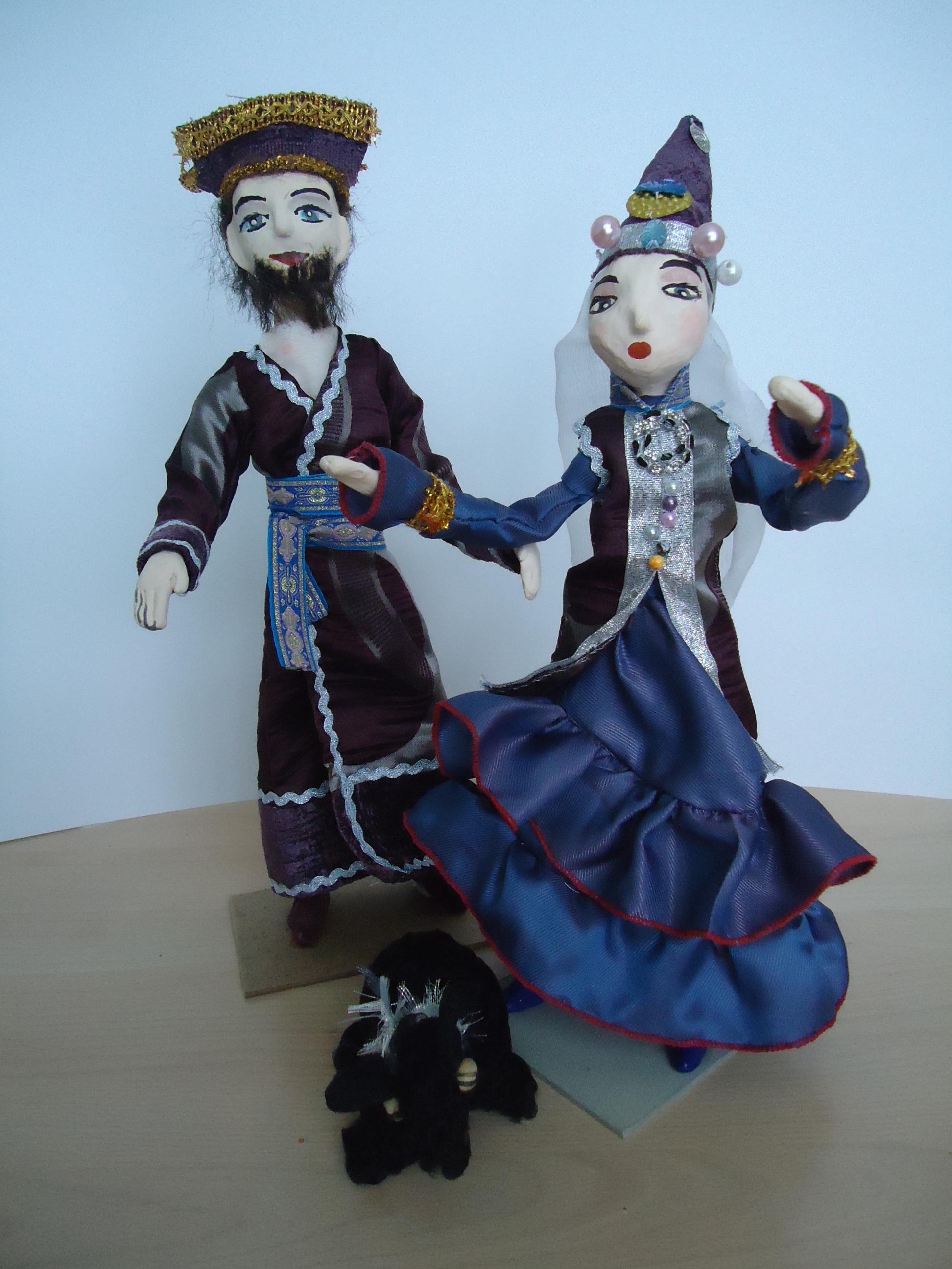 Шьем куклы с детьми.