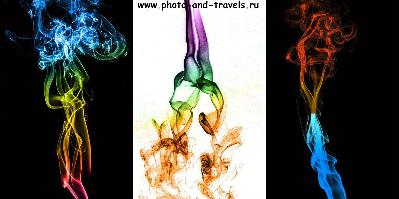 Фото 22. Фотографируем дым с использованием макрообъектива Тамрон 90/2,8.