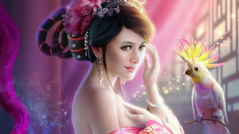 Сказка о фее и волшебной силе любви