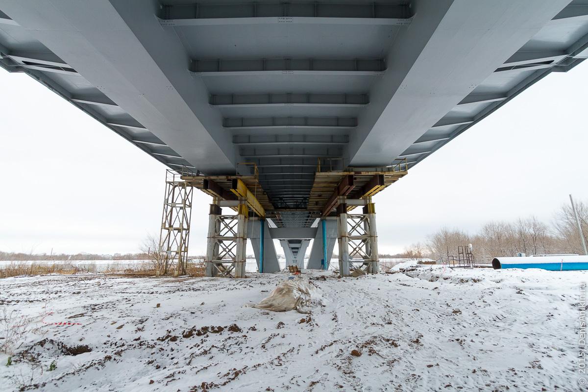 Мостовой переход через судоходный канал в Балаково 9