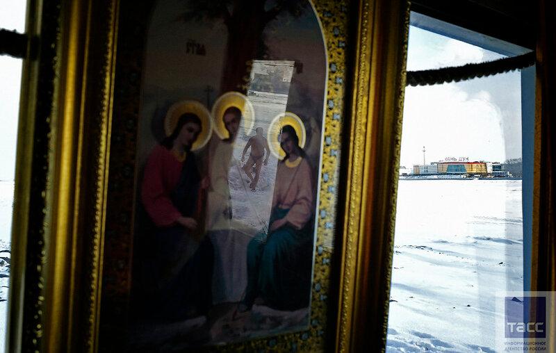 В Благовещенске работает единственная в России баня на границе