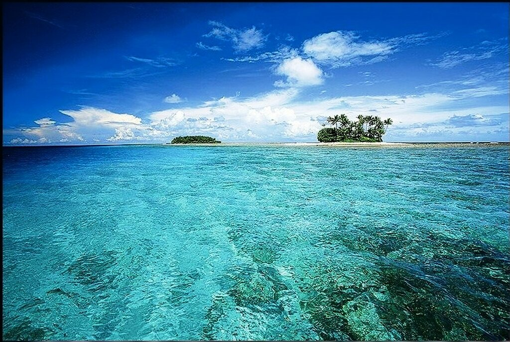 Атолл Эбон, где обнаружили Хосе, самый южный обитаемый остров среди Маршалловых островов. Фото DIOMEDIA.jpg