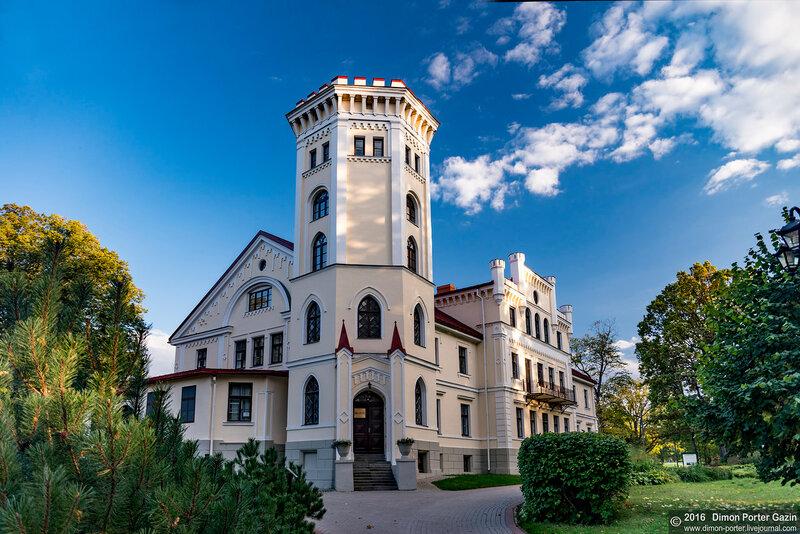 Латвия. Лизумс. Лизумский замок