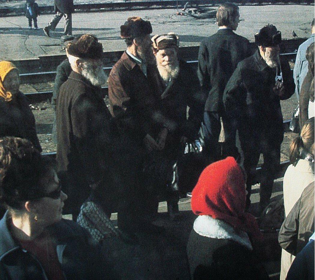 1973. На одной из станций железной дороги