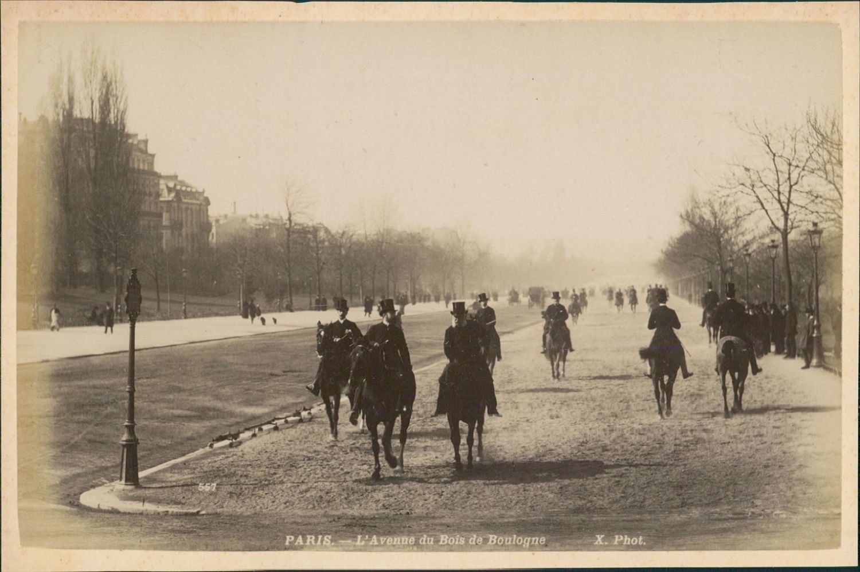 1889.   Авеню Булонский лес