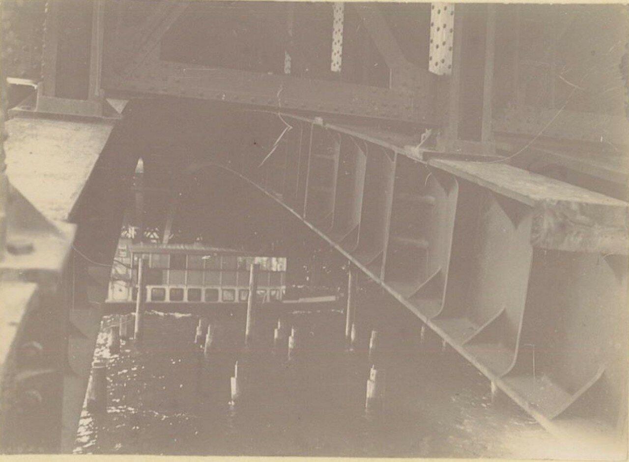Строительство моста Александра III