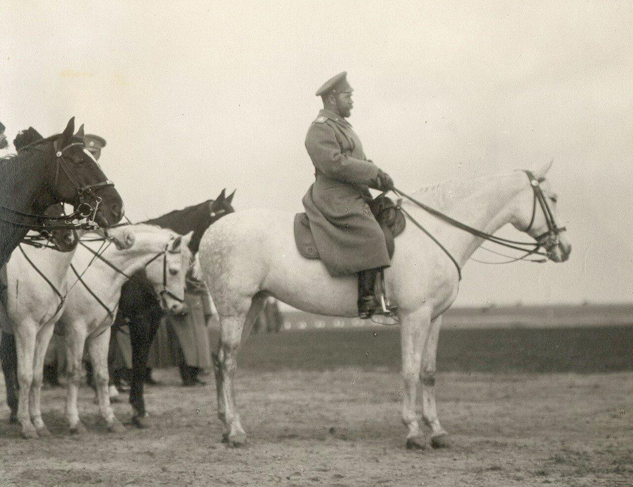 Высочайший смотр 3-го кавалерийского корпуса 29 марта 1916 года (фрагмент)